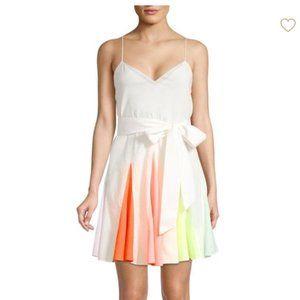 Alice + Olivia Kimmy Rainbow Dress